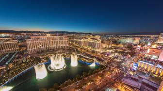 picture of Bellagio fountain in Las Vegas