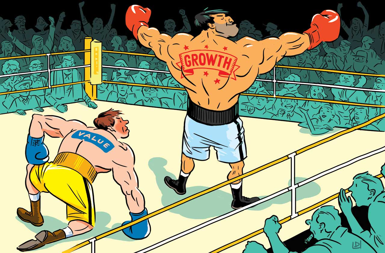 Value Vs. Growth Stocks -- Which Will Come Out on Top ...