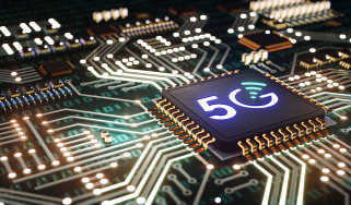 5G semiconductor chip concept art