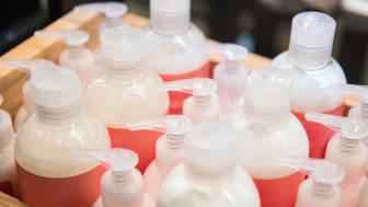 bottles of lotion