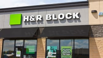 picture of H&R Block store
