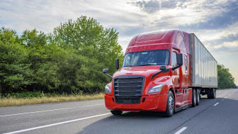 big rig long-haul semi on highway