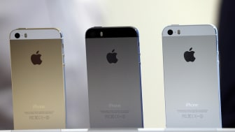 during a special event at Apple headquarters on September 10, 2013 in Cupertino, California.