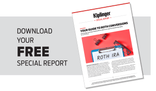 Image of Kiplinger's special report on Roth conversions