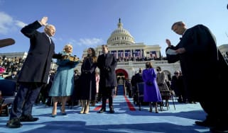 President Joe Biden is sworn into office on Jan. 20, 2021