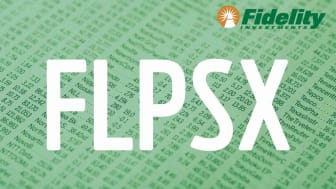 Composite image representing Fidelity's FLPSX fund
