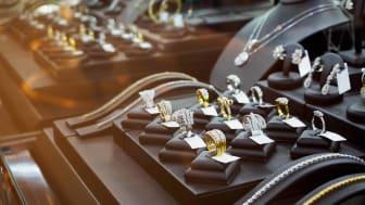 Diamond jewelry display