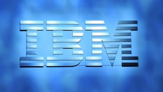 LAS VEGAS, NV - JANUARY 06:An IBM logo is shown onstage during a keynote address by IBM Chairman, President and CEO Ginni Rometty at CES 2016 at The Venetian Las Vegas on January 6, 2016 in L