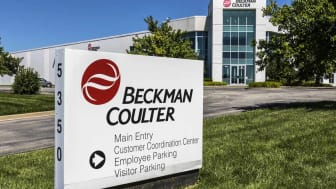 Indianapolis - Circa July 2017: Beckman Coulter Life Science Division. Beckman Coulter is involved in biomedical testing and is a subsidiary of the Danaher Corporation I