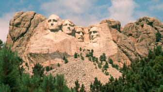 picture of Mount Rushmore in South Dakota