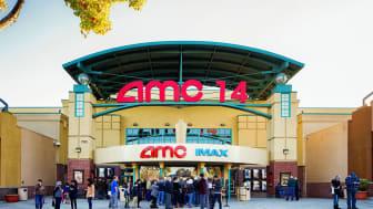 An AMC movie complex exterior