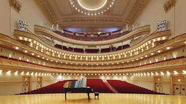 The Stern Auditorium/Perelman Stage at Carnegie Hall.