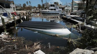 Photo of flood damage