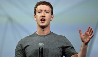 SAN FRANCISCO, CA - APRIL 30:Facebook CEO Mark Zuckerberg delivers the opening keynote at the Facebook f8 conference on April 30, 2014 in San Francisco, California. Facebook is hosting the on