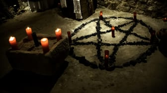 picture of place for a satanic ritual
