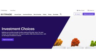 E*Trade web site graphic