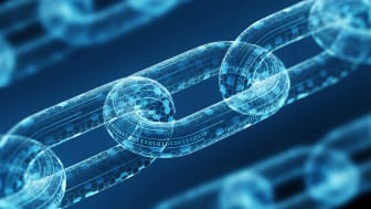 blockchain mining concept