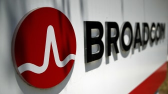 SAN JOSE, CA - JUNE 07:Signage is displayed outside the Broadcom offices on June 7, 2018 in San Jose, California. Broadcom is expected to report second-quarter earnings today after the closin