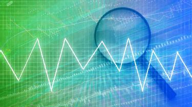 financial graph chart backgroup