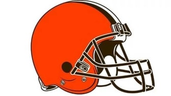 picture of Cleveland Browns helmet