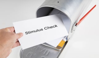 picture of stimulus check envelope in mailbox