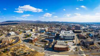 A picture of Huntsville, Ala.