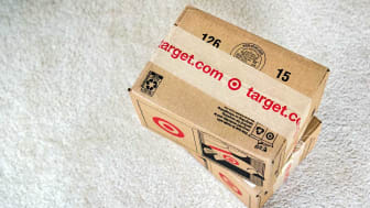 February 3, 2019 Sunnyvale / CA / USA - Target delivery packages; the Company's logo and target.com printed on the boxes