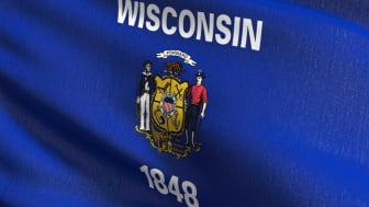 picture of Wisconsin flag