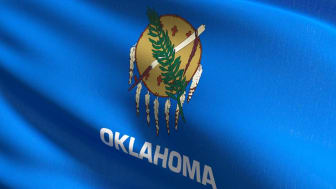 picture of Oklahoma flag