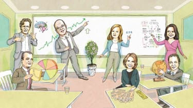 Photo-illustration of Wall Street's best investors