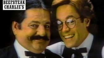 Screenshot of an old Beefsteak Charlie's television commercial
