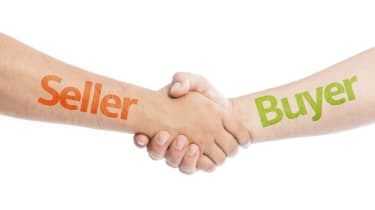 Seller and Buyer shaking hands