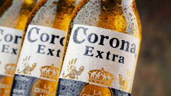 Several bottles of Corona Extra beer