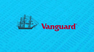 Stylized Vanguard logo