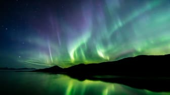picture of northern lights in Alaska
