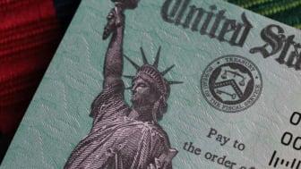 Concept art showing a check