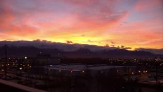 Anchorage Sunrise