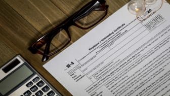 picture of IRS Form W-4