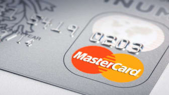 """Krasnodar, Russia - september 11, 2011: MasterCard Logo on credit card. Image taken with macro lens."""