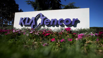 MILPITAS, CA - OCTOBER 21:A sign is posted in front of the KLA-Tencor headquarters on October 21, 2015 in Milpitas, California.Chipmaker Lam Research announced plans to acquire KLA-Tencor for