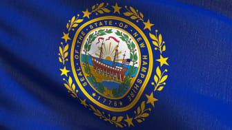 picture of New Hampshire flag