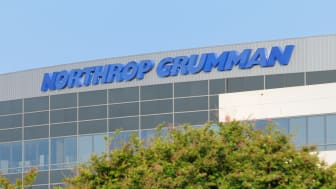 Huntsville, Alabama, USA - June 7, 2011:Close up of Northrop Grumman sign on modern building.Located near Old Madison Pike Road in Huntsville, Alabama.