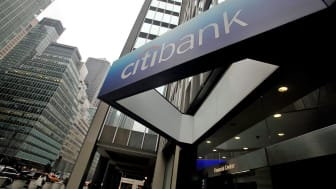 NEW YORK - JANUARY 19:The sign to a Citibank branch is seen in Manhattan January 19, 2010 in New York City. Citigroup Inc. reported a $7.6 billion fourth-quarter loss caused by failed loans a