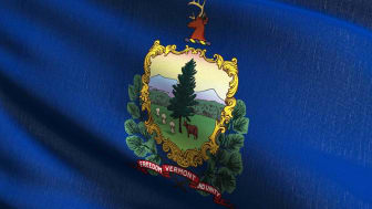 picture of Vermont flag