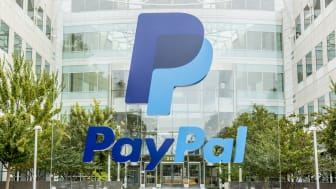 San Jose, USA - October 15, 2015: PayPal headquarters located at 2221 N. First Street San Jose, CAPayPal is an United States company operating a worldwide online payment system.