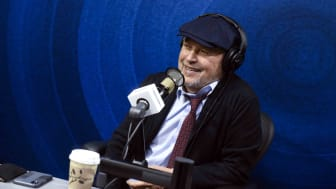 Billy Crystal Visits Sirius XM's The Jess Cagle Show at Sirius XM Studios in Los Angeles.