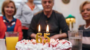 A 65th birthday celebration