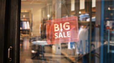 Big Sale, Suit Shop, Fashion Shop, Small Business, Closed Shop
