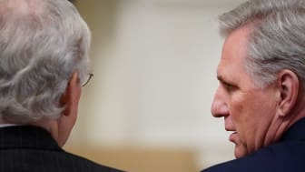 Photo of Mitch McConnell and Kevin McCarthy