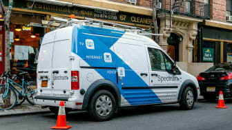 A Charter Communications van